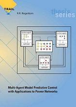 Multi-Agent Model Predictive Control with Applications to Power  Networks